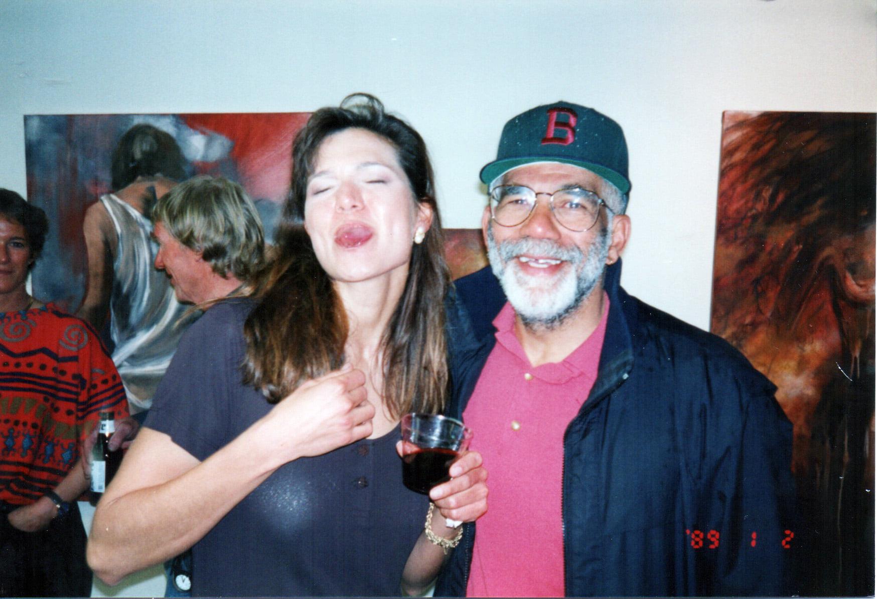Ed Bradley and Tania Dibbs
