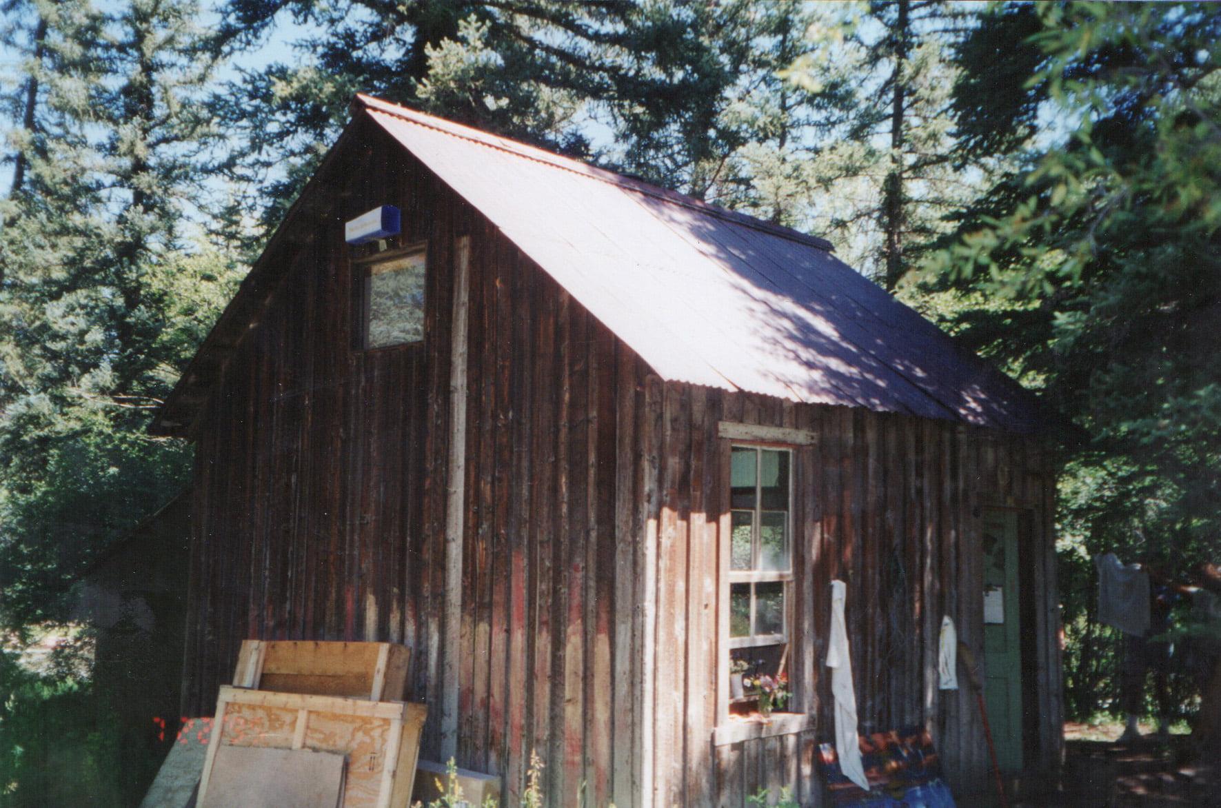 Cabin on Twining Flats