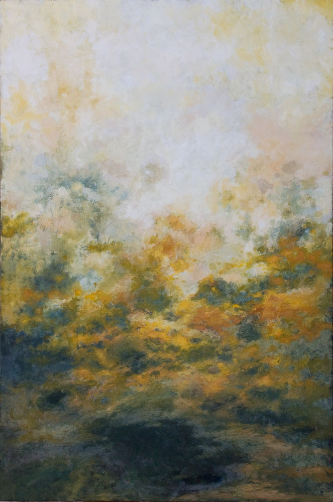 """Froth, 72"""" x 48"""", oil -"""