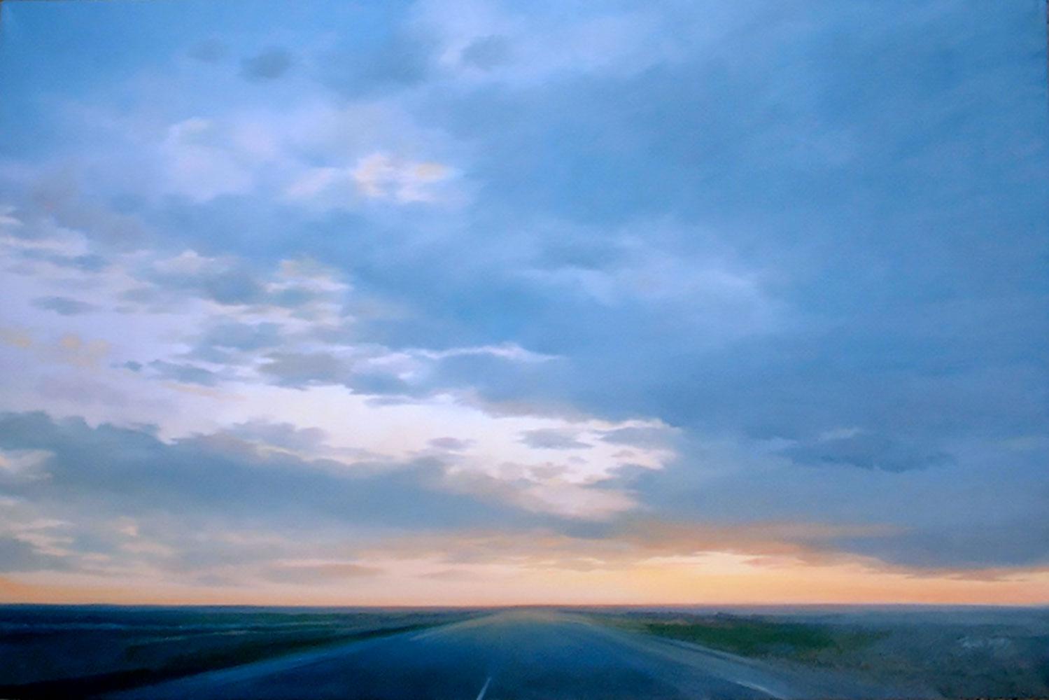 "Kansas High Sea, 24"" x 36"", oil"