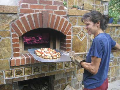 Traditional Brick Oven Tania Dibbs