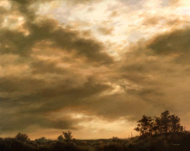 """Terra Sky, 20"""" x 24"""", oil"""