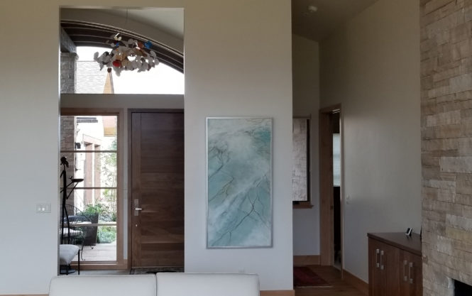 encaustic in private home